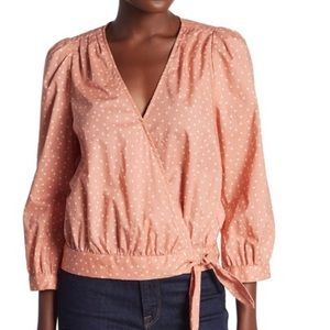 MWOT Madewell Star Scatter Wrap Shirt